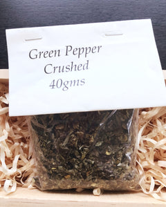 ~ Green Pepper Crushed 40g