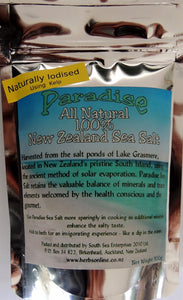 New Zealand  Iodised Sea Salt Natural Organic