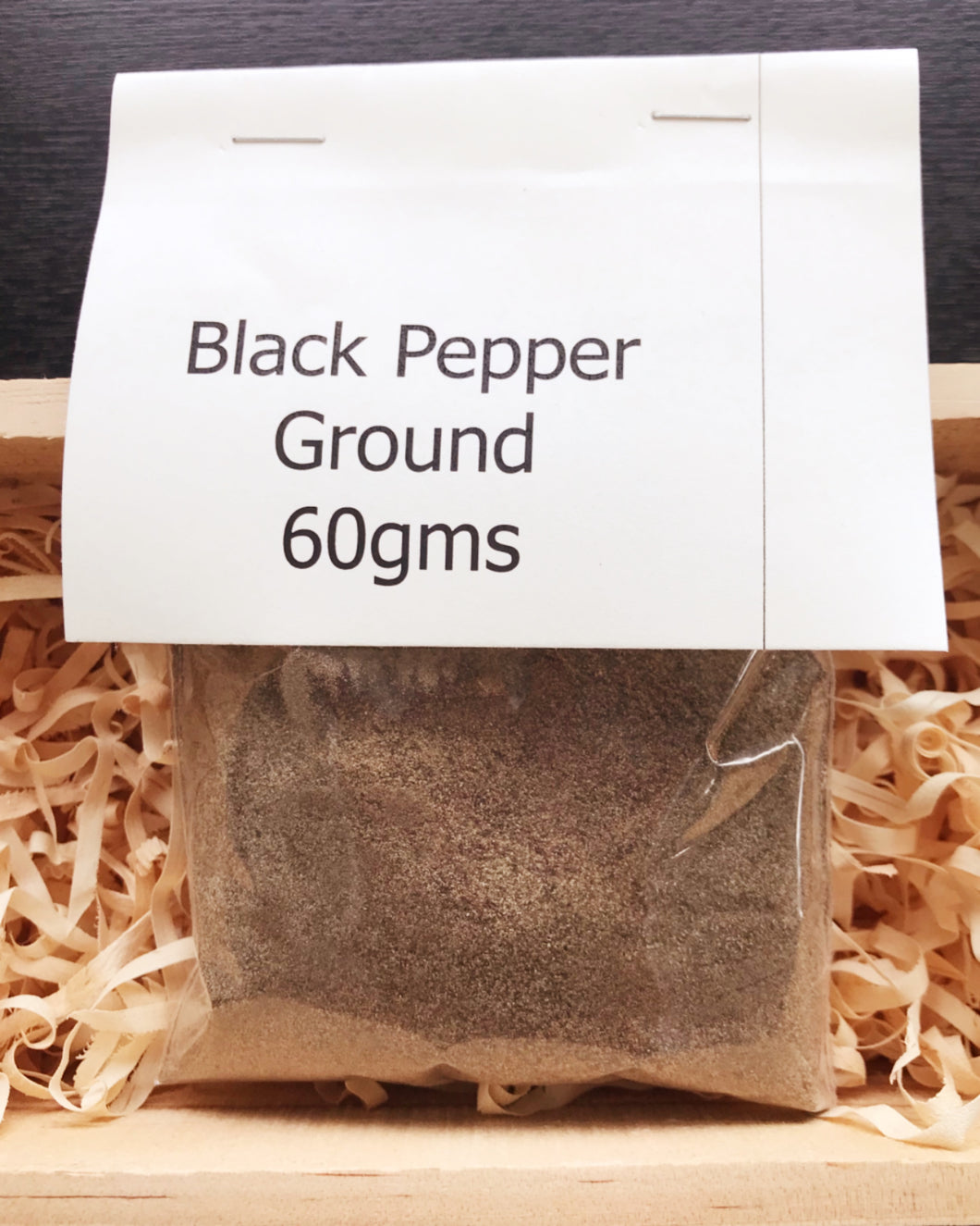 ~Black Pepper Ground 60g