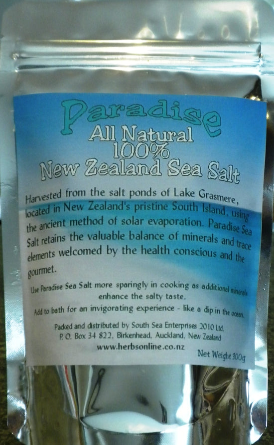 New Zealand Sea Salt Natural Organic Coarse