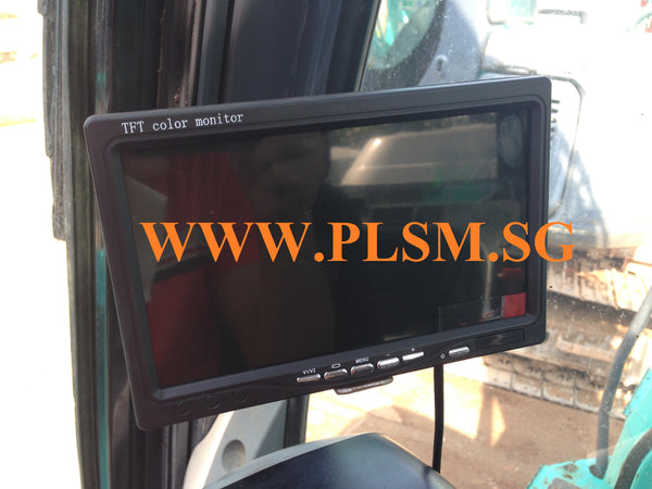 Reverse Camera with LCD Screen for Hydraulic Excavators in Singapore