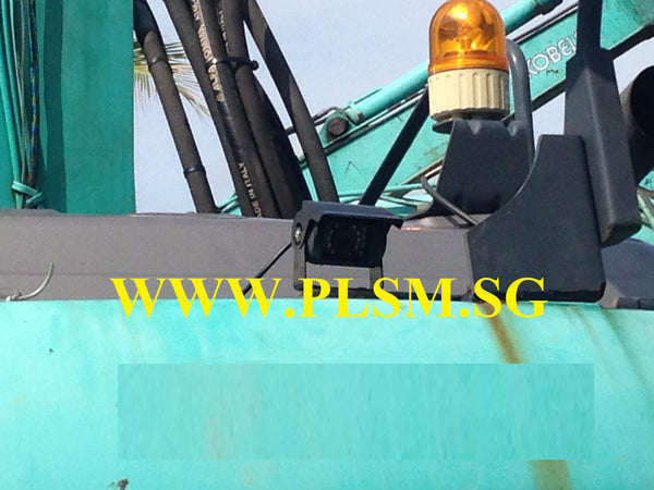 Reverse Camera with LCD Screen for Caterpillar Hydraulic Excavators in Singapore