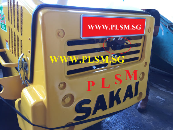 10 TONS SAKAI SV520D VIBRATORY ROAD ROLLER WITH REVERSE CAMERA FOR RENTAL IN SINGAPORE WWW.PLSM.SG