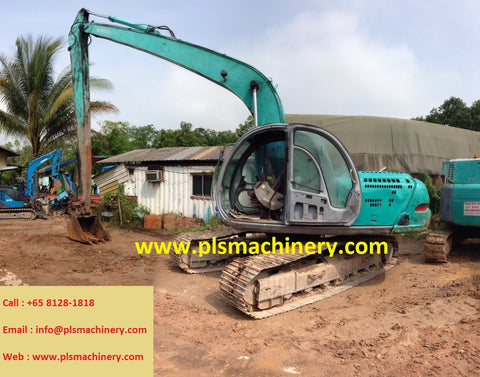 R04  KOBELCO 20TONS EXCAVATOR FOR RENTAL SK200-V SUPER LONG ARM IN