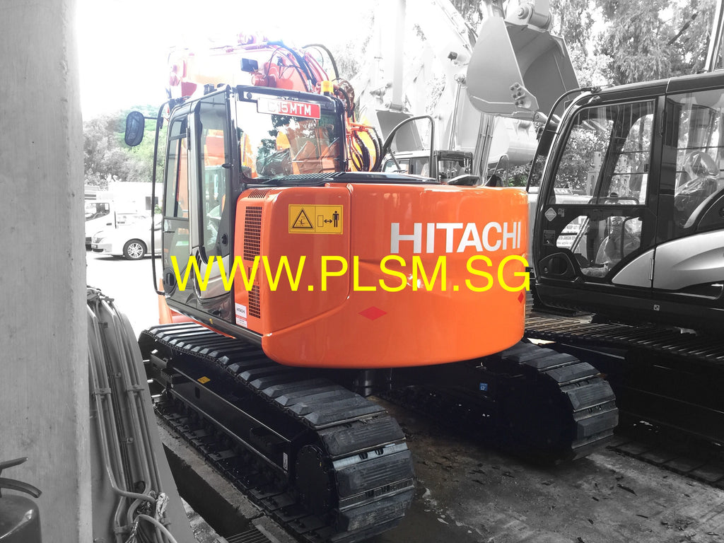 Brand New 2015 Hitachi ZX135US-3 Hydraulic Excavator For Sale In Singapore