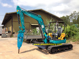 Mini Excavators For Rent Singapore Rental Kubota U50-5 www.excavator.com.sg