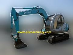 R02.  6 Tons Hydraulic Excavators Rental Services Kobelco SK60-V SUPER with Hydraulic Piping and ArmCrane In Singapore
