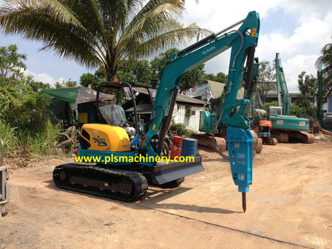 R01  5 Tons Mini Hydraulic Excavator For Rental Or Leasing
