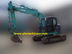 R03.  Kobelco SK115SR-1ES Hydraulic Excavator for Rent with Hydraulic Piping or Load Indicator (Arm Crane) In Singapore