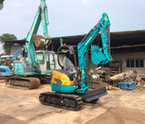 R01.  3 Tons Mini Hydraulic Excavator Rental Services Kubota U-30-5 2013YR in Singapore