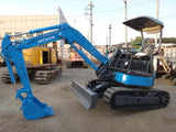 R01.  3 TONS MINI HYDRAULIC EXCAVATOR IN SINGAPORE FOR RENT HITACHI MINI ZX30U-2 WITH HYDRAULIC PIPING AND TOKU BREAKER