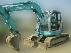 R02.  6 Tons Hydraulic Excavator For Rental Kobelco SK60SR-1ES with Hydraulic Piping and Load Indicator (ArmCrane) In Singapore