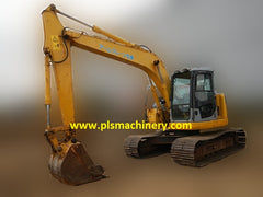 Excavator Rental Services Singapore Komatsu PC138US - www.plsmachinery.com