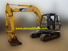 R02.  6 Tons Hydraulic Excavators Kobelco SK60-3 for Rent with Hydraulic Piping and ArmCrane In Singapore