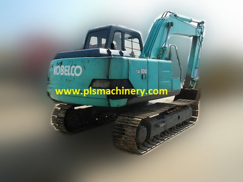 R03  SK100 - 3 KOBELCO EXCAVATOR FOR RENT IN SINGAPORE WITH LOAD