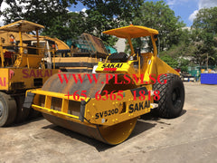 A02. 10 TONS SAKAI SV520D VIBRATORY ROAD ROLLER FOR RENT IN SINGAPORE