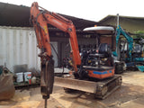 S01.  HITACHI MINI EXCAVATOR ZX30U-2 - 1M7A010392  2004YR FOR SALE IN SINGAPORE