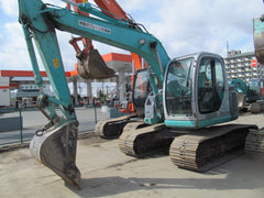 S03.  KOBELCO HYDRAULIC EXCAVATOR SK115SR-1E YV02-02030UP FROM JAPAN FOR SALE IN SINGAPORE