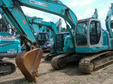R04.  KOBELCO EXCAVATOR FOR RENTAL 2003YR, LOAD INDICATOR (ARMCRANE), HYDRAULIC PIPING, IN SINGAPORE