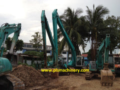 R04.  KOBELCO EXCAVATOR FOR RENTAL SK200-6ES SUPER LONG ARM IN SINGAPORE
