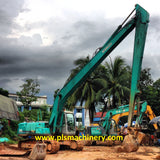 S04.  KOBELCO EXCAVATOR FOR SALE SK200-6ES SUPER LONG ARM 2001YEAR IN SINGAPORE