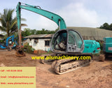 R04.  KOBELCO 20TONS EXCAVATOR FOR RENTAL SK200-V SUPER LONG ARM IN SINGAPORE