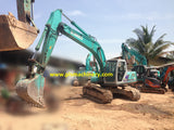 S04.  20 TONS HYDRAULIC EXCAVATOR FOR SALE KOBELCO SK200-6ES YN10-40800UP 2005YR WITH HYDRAULIC PIPING, IN SINGAPORE