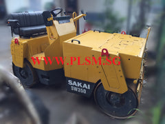 3.5 TONS SW350 SAKAI TANDEM ROAD ROLLER FOR RENTAL IN SINGAPORE