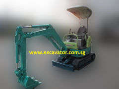 1.5 Ton Mini Hydraulic Excavator Yanmar Vio15-2 Mini Excavator For Rent Singapore
