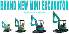 Brand New Kubota Mini Excavator For Sale U10 U17 U30 U50 Singapore