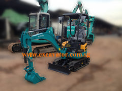 1.7 Ton Super Micro Mini Hydraulic Excavator Kubota U17-3 Brand New For Rent Singapore