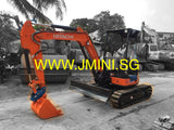R01.  4 Tons Japan Hitachi ZX38-5A Rent Mini Excavator Brand New 2015 in Singapore