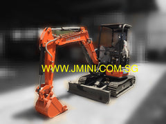 R01.  3 Tons Hitachi ZX33-5A Mini Hydraulic Excavator For Rent Japan Brand New 2015 in Singapore