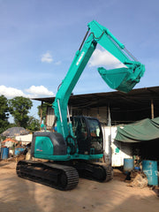 S03.  KOBELCO SK135SR YY02-03900up 2002YR FOR SALE WITH LOAD INDICATOR & LM CERTIFICATE