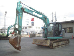 R03.  SK135SR-1ES KOBELCO EXCAVATOR FOR RENTAL 2007YR WITH HYDRAULIC PIPING IN SINGAPORE