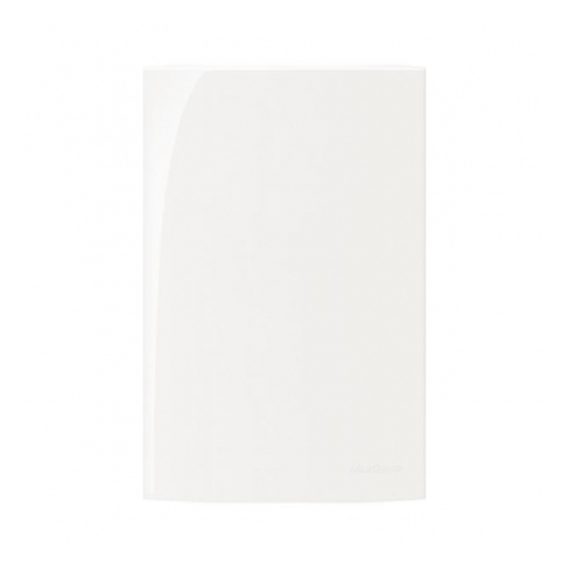 Placa 4X2 - Cega Branco Sleek Margirius