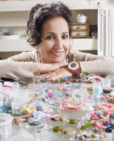 Jewellery Designer Ayala Bar In Her Israeli Studio