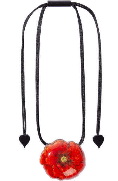 Primavera Poppy Necklace - Zsiska 2020