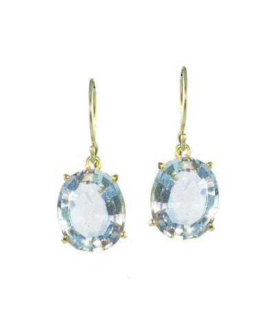 Aquamarine Earring in 14ct Gold