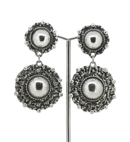 Mexican Sterling Silver 'Brillante' Earring