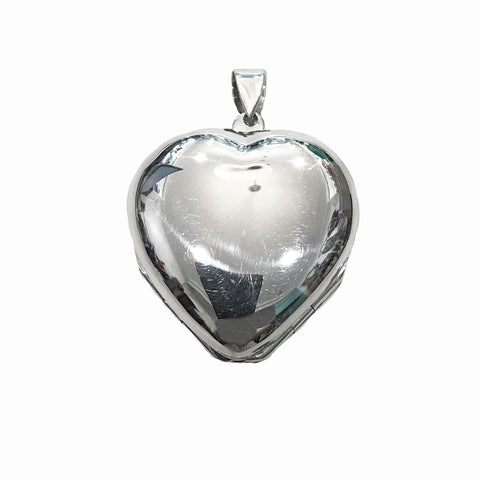 Heart Shaped Clover Leaf Locket