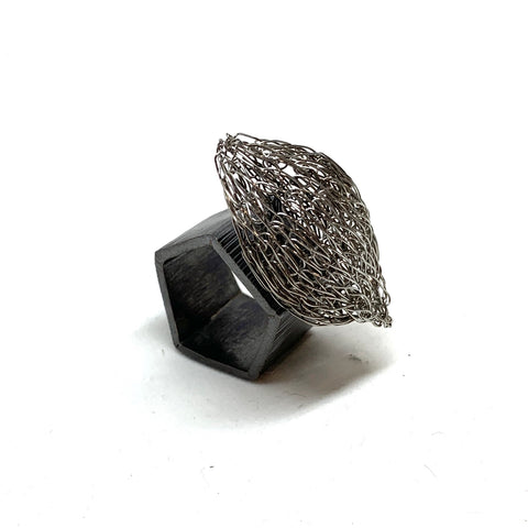 Woven Form and Function Ring - Milena Zu