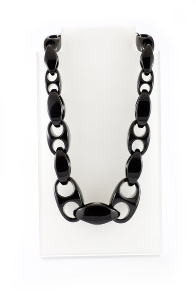 Sirocco Black Links Necklace