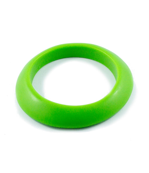 Sirocco Green Resin Bangle