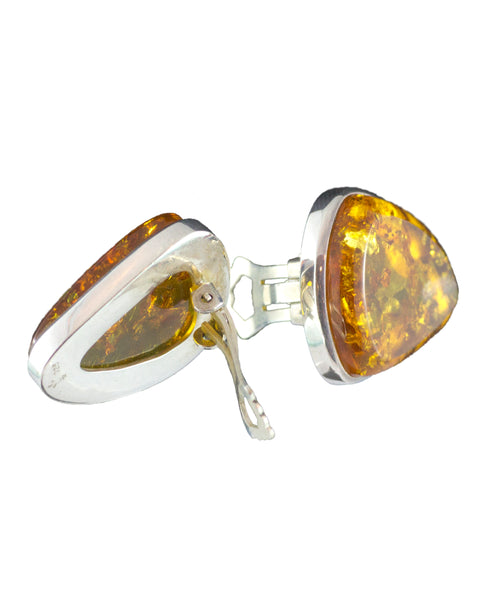 Honey Amber Earring