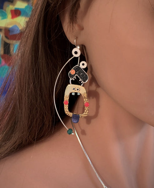 Monster! Large Drop Earring - Truc Et Machin