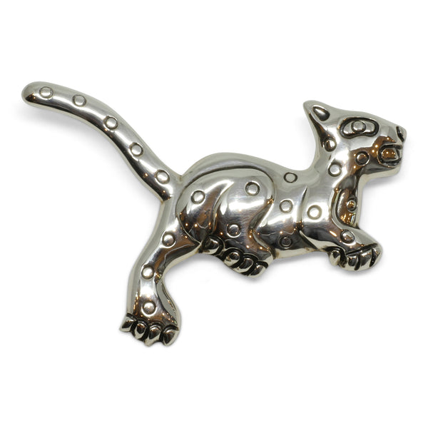 Jaguar Brooch - Taxco, Mexico