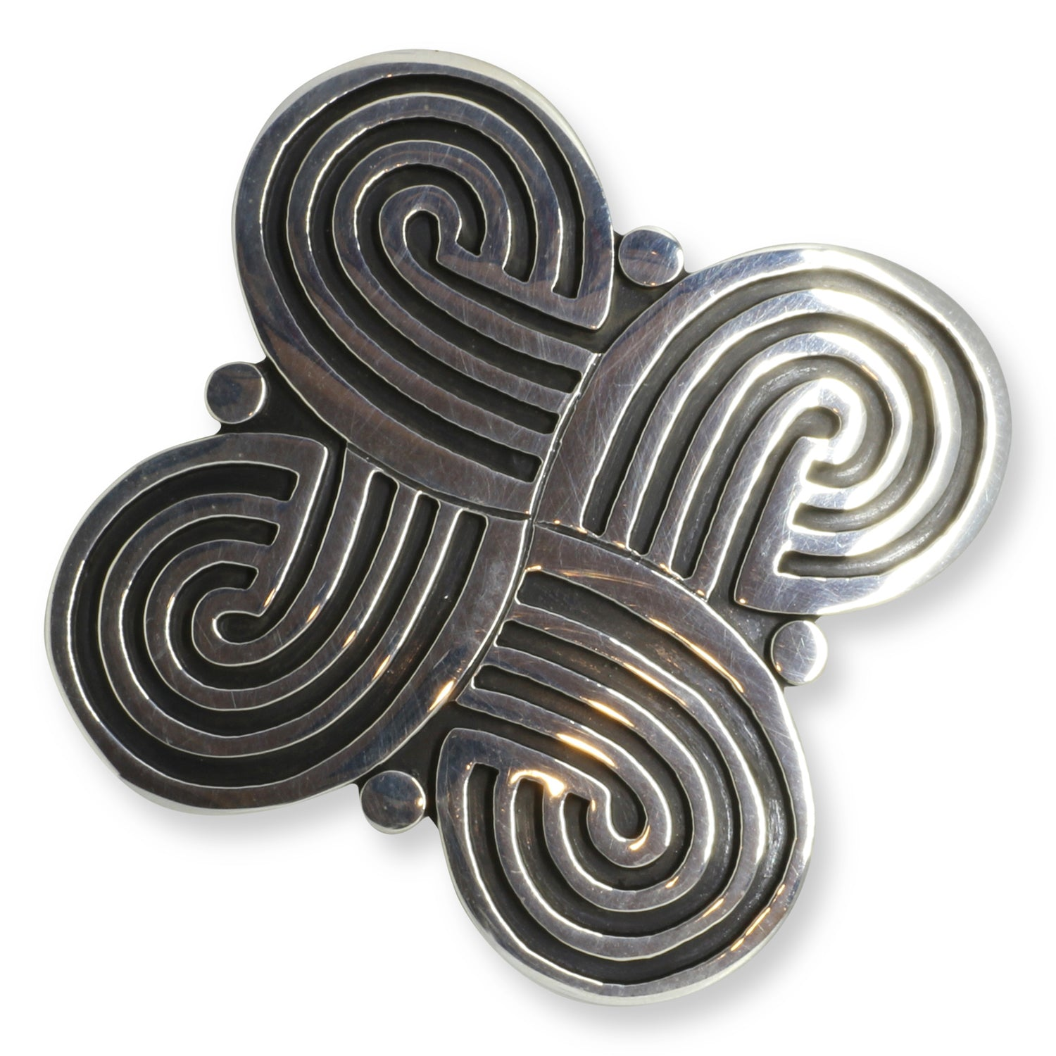 tiger store brooch celtic pewter eye