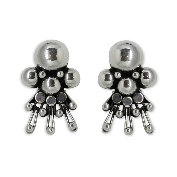 Sterling Silver Earrings - William Spratling
