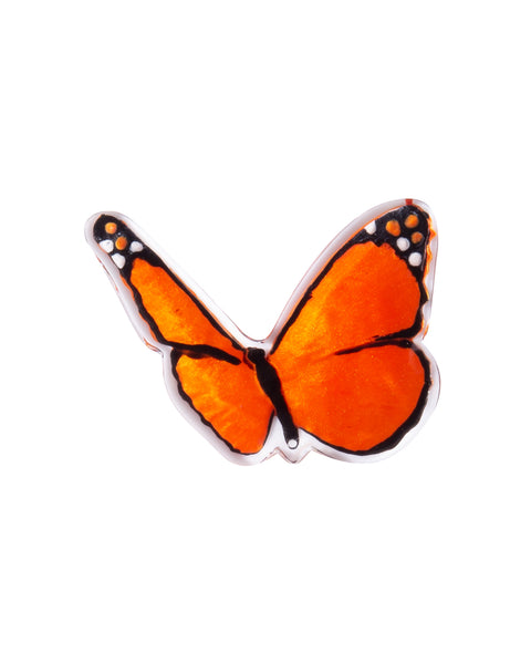 Orange Butterfly Brooch - Zsiska 2020
